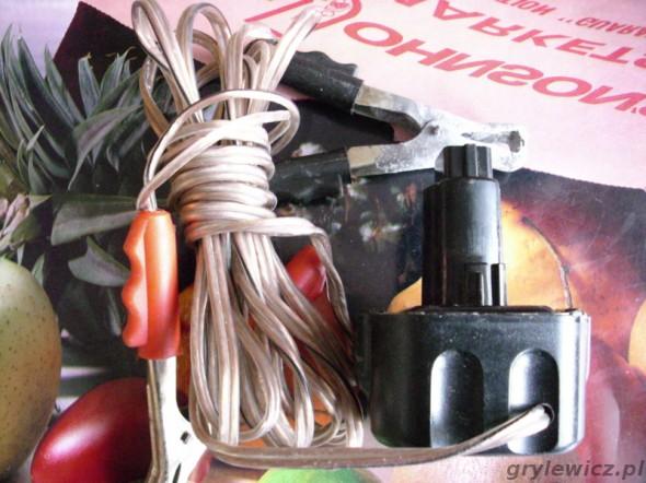 Przerobiony akumulator DeWalt