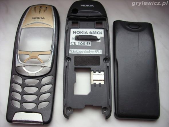 Stara obudowa Nokia 6310i