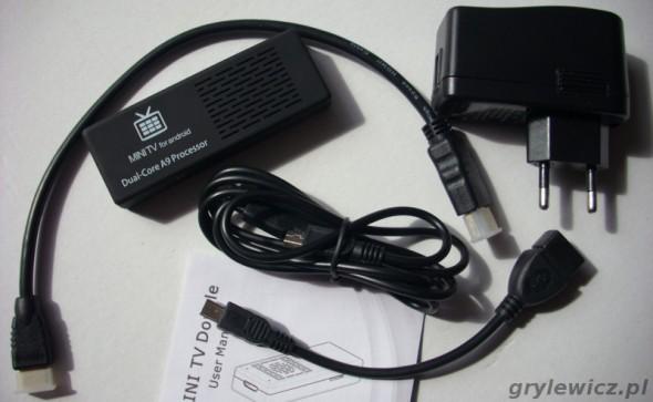 Wyposażenie MK808