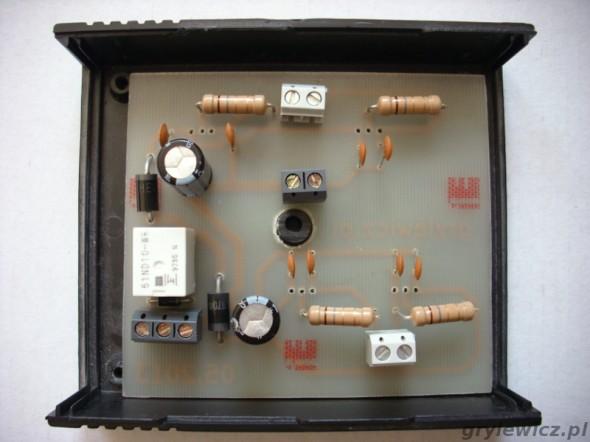 Montaż stablizatora prądu do diod LED