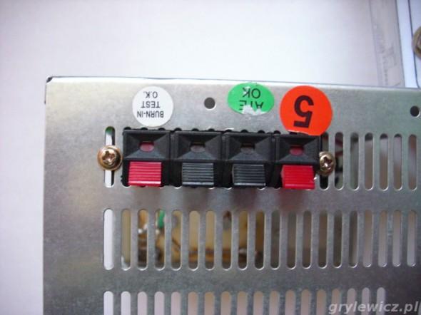 Złącze do podłączenia modułu POWER LED