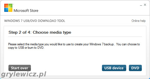 Windows Download Tool - USB czy DVD