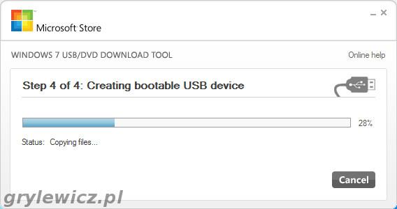 Instalka Windows na sticku USB