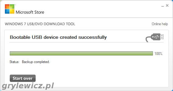 Windows 7 na USB