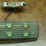 Moduł LED w oprawie lampki VW Passat