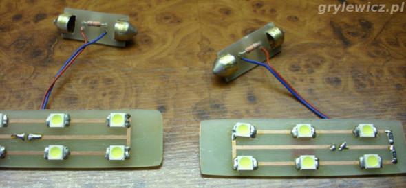 Oświetlenie LED tył w Passacie