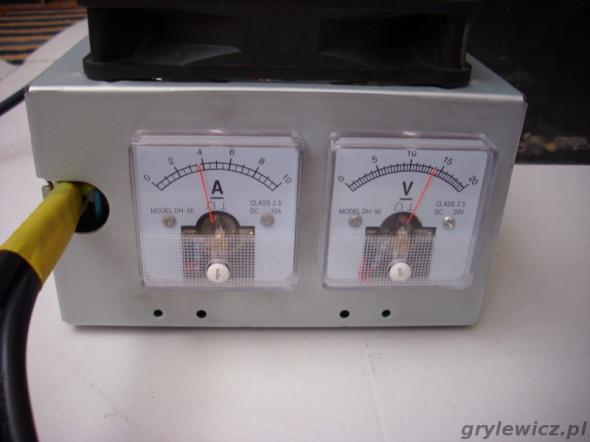 Prostownik DIY - ładowanie prądem 4A