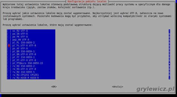 Pakiet językowy Raspbian Raspberry Pi