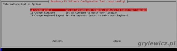 Internationalisation Options Raspberry Pi