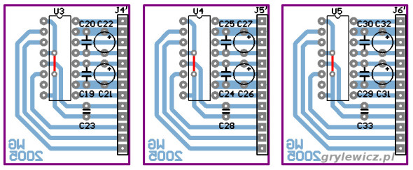 Płytki z układami PGA2310