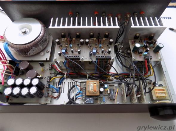 Wzmacniacz MOSFET - środek