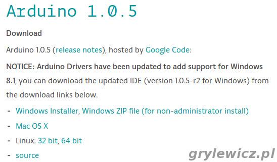 Arduino IDE instalki