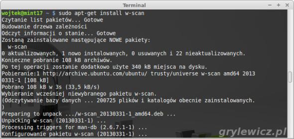 Linux i DVB-T w_scan