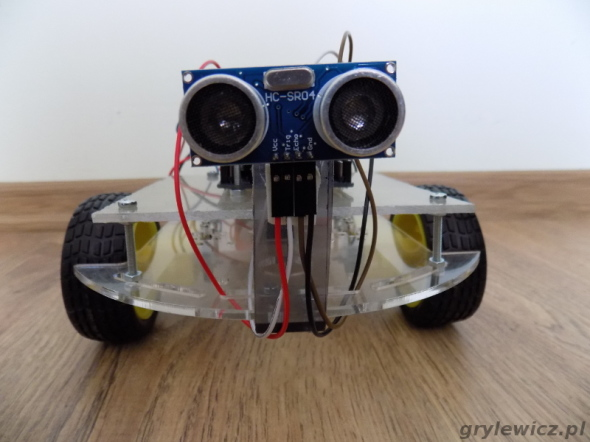 Robot z arduino - przód