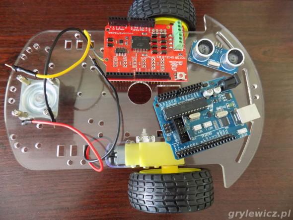 Platforma i moduły do budowy robota