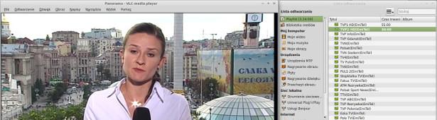 VLC odtwarza DVB-T