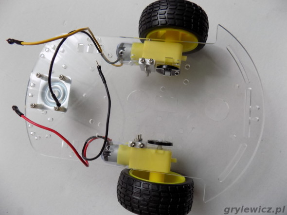 Podwozie robota arduino
