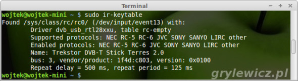 ir-keytable