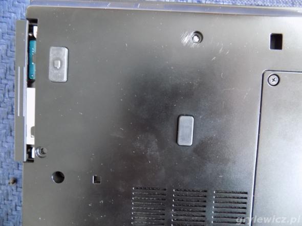 Instalacja dysku w laptopie Dell E4310