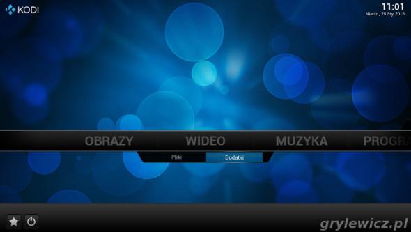 Kodi - dodatki wideo