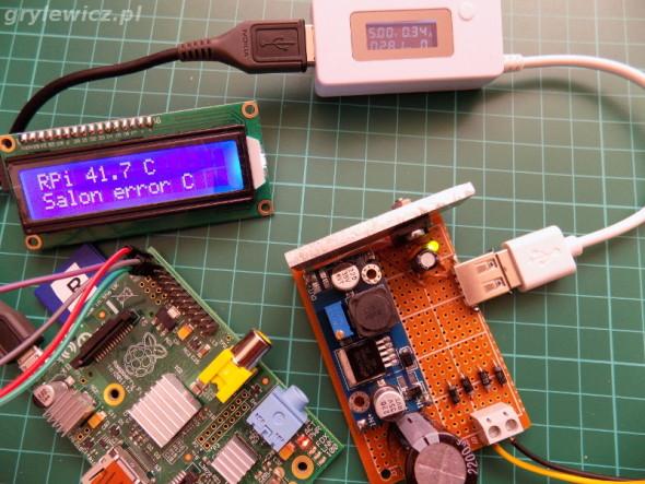 Zasilacz DIY i Raspberry Pi