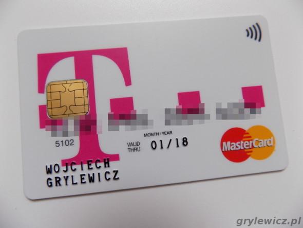 Karta debetowa mastercard