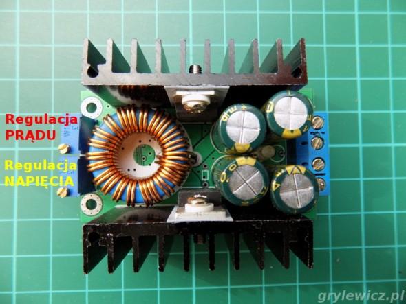 Przetwornica ze stabilizacją prądu i napięcia