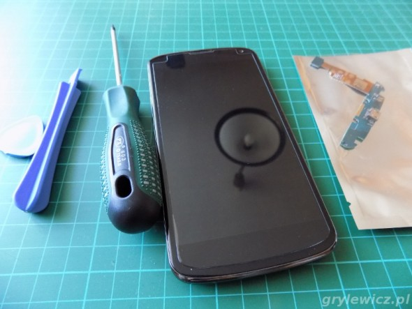 Narzędzia do otworzenia telefonu Nexus