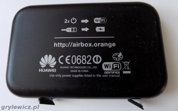 Huawei - spód