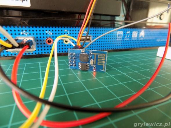 ESP8266 podłączone do komputera