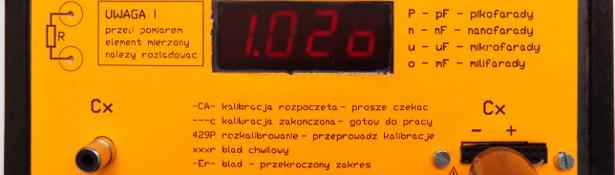 Pomiar miernikiem AVT2725