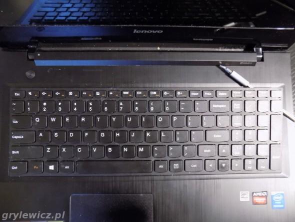 Lenovo G50 wyjęcie klawiatury