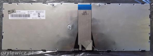 Spód klawiatury Lenovo
