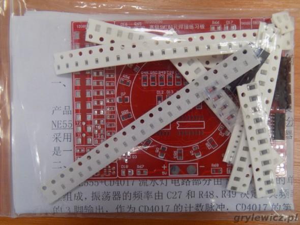 Zestaw SMD z diodami