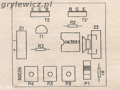 Widok strony elementów ne006