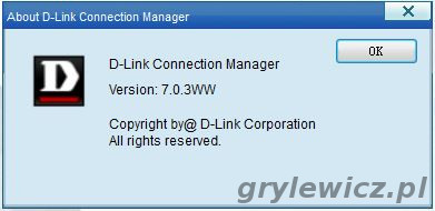 D-link connection Manager 7.0.3