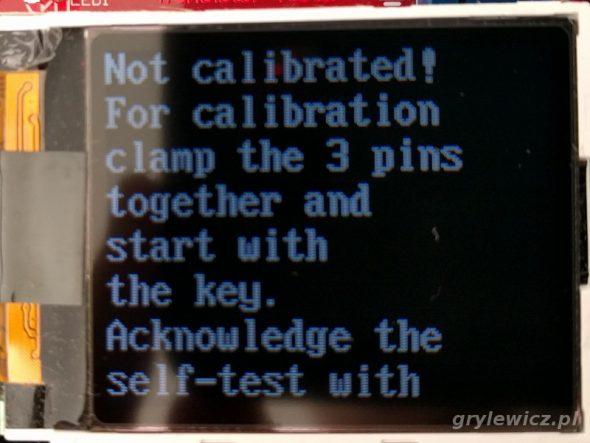 Info o kalibracji 1