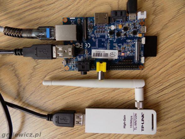 Banana pi m1 jako router