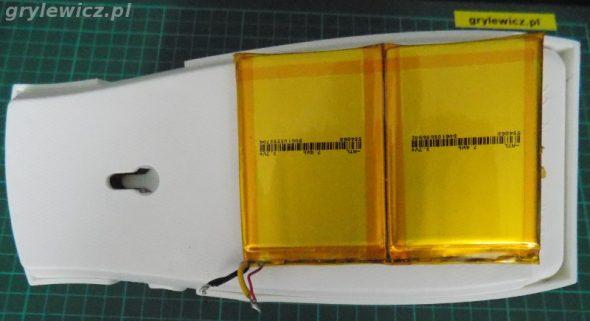 Aril z baterią Li-ion