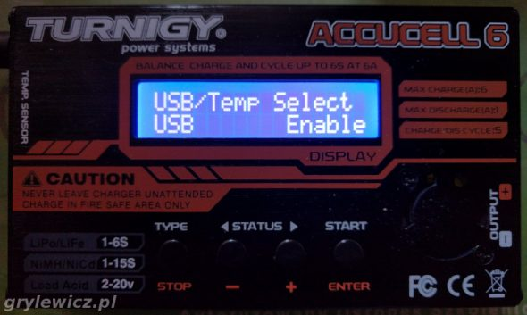 USB Enable Accucell