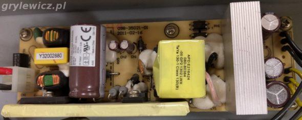 Zasilacz elektrolity po 4 latach
