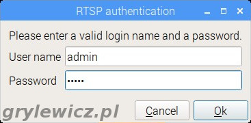 Autoryzacja w RTSP
