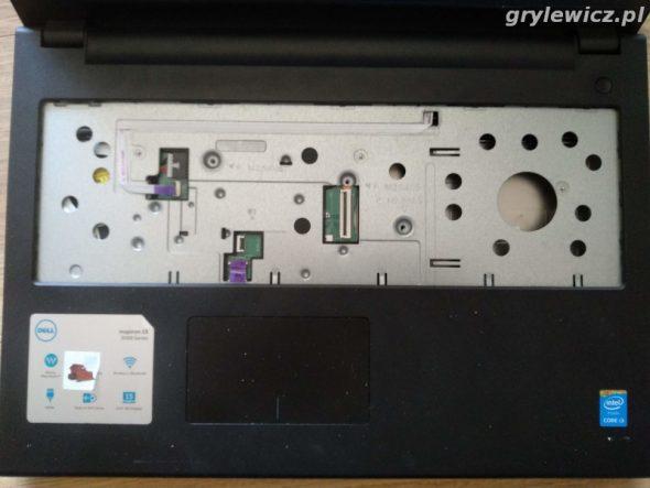 Demontaż klawiatury Dell